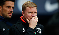 Football - 2018 / 2019 Premier League - Manchester City vs. AFC Bournemouth<br /> <br /> Eddie Howe manager of Bournemouth at The Etihad.<br /> <br /> COLORSPORT/LYNNE CAMERON