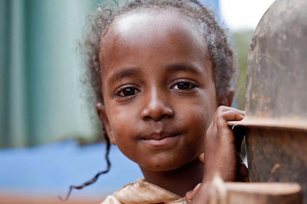 Girl in Delo Mena, southern Ethiopia