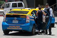 Cabs/ taxi in Los Angeles.