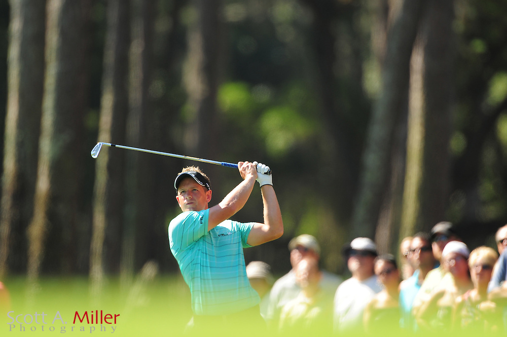 Luke Donald during the second round of the Players Championship at the TPC Sawgrass on May 11, 2012 in Ponte Vedra, Fla. ..©2012 Scott A. Miller..