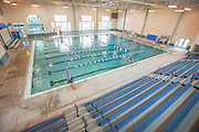 The competition swimming pool at the Laramie Recreation Center in Laramie, WY.