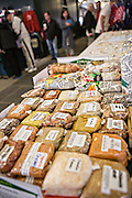 Local products at the Historic Charleston City Market on Market Street in Charleston, SC.