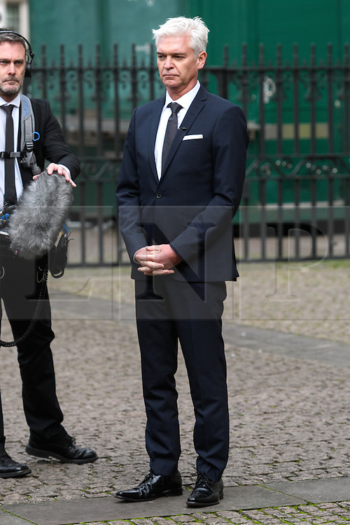 © Licensed to London News Pictures. 24/11/2016. PHILLIP SCHOFIELD attends a Service of Thanksgiving at Westminster Abbey to celebrate the Diamond Anniversary of The Duke of Edinburgh's Award (DofE). London, UK. Photo credit: Ray Tang/LNP