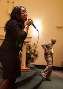 Detroit Gospel Girl Troup, The Trumpelettes Reunion performance at the Jamison Baptist Church