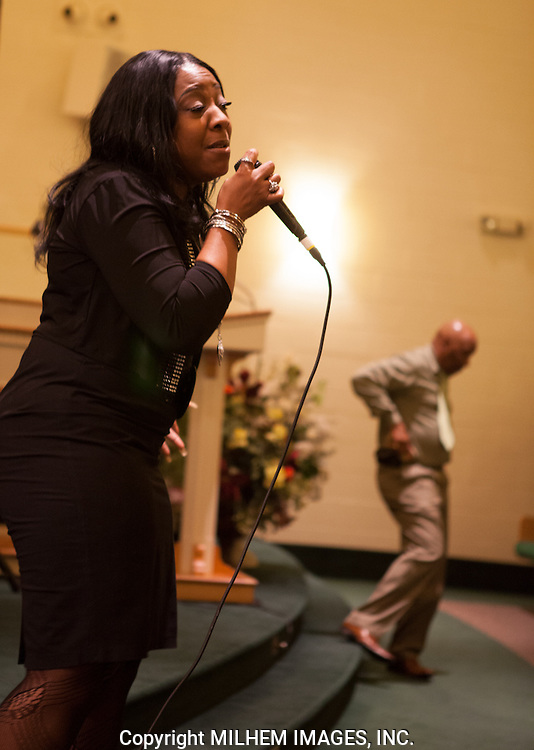 Detroit Gospel Girl Troup, The Trumpelettes Reunion performance at the Jamison Baptist Church