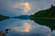 Storm light on Killarney Lake<br />