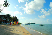 The beach at Ko Samui