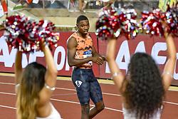 July 20, 2018 - Monaco - 200 metre hommes - Noah Lyles  (Credit Image: © Panoramic via ZUMA Press)