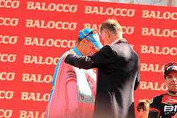 Vincenzo Nibali Wins the Giro d'Italia 2013 and get the Maglia Rosa
