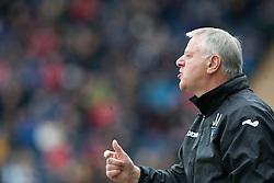 Jim Jeffries, Dunfermline's manager..half time : Falkirk v Dunfermline, 16/2/2013..©Michael Schofield.