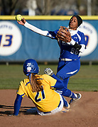 Hofstra University vs. Seton Hall University softball game at Hofstra, on Tuesday, April 5, 2016. Photo by Kathy Kmonicek