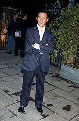 FRANKIE DETTORI at the opening party of the new Frankie's Italian Bar and Grill hosted by Frankie Dettori, Marco Pierre White and Edward Taylor at 68 Chiswick High Road, London W4 on 1st September 2005.<br /><br />NON EXCLUSIVE - WORLD RIGHTS
