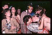 Piers Gaveston Ball. Oxford Town Hall. 1981 approx.© Copyright Photograph by Dafydd Jones 66 Stockwell Park Rd. London SW9 0DA Tel 020 7733 0108 www.dafjones.com