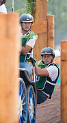 Juan Antonia Real Garcia, (ESP), Bamaro, Corne, Polo, Vitales, Wanted - Driving Marathon - Alltech FEI World Equestrian Games™ 2014 - Normandy, France.<br /> © Hippo Foto Team - Jon Stroud<br /> 06/09/2014