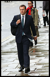 Andy Coulson arriving for the preliminary hearing of the phone hacking trial at the Old Bailey in London ,Wednesday, 26th September 2012. Photo by: Stephen Lock / i-Images