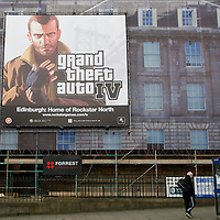 EDINBURGH April 29th Launch of the most  controversial but highly succesfull criminal action computer game developed by Scottish Company  Rockstar . Latest critics include Hilary Clinton, Michael Bloomberg
