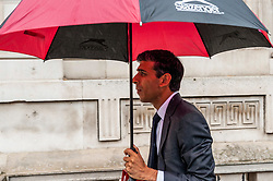 Rishi Sunak, Chief Secretary to the Treasury leaves the Cabinet Office.<br /> <br /> Richard Hancox | EEm 30072019