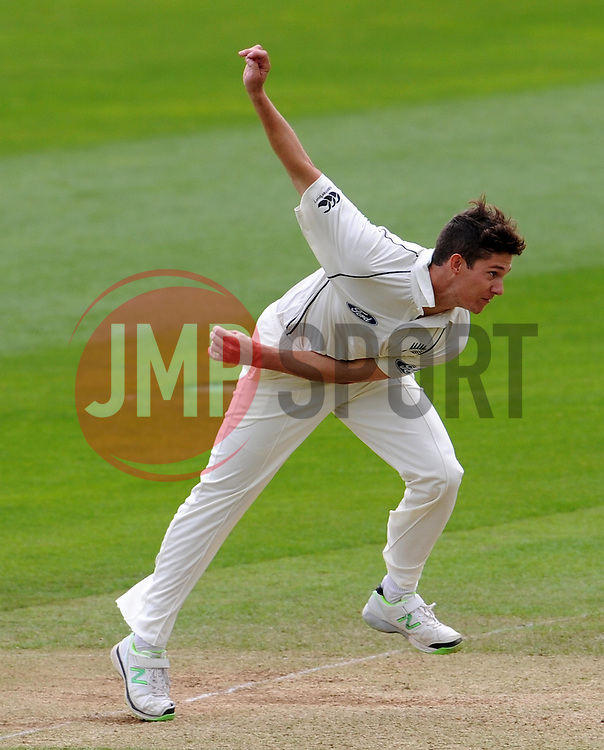 New Zealand's Ben Wheeler Photo mandatory by-line: Harry Trump/JMP - Mobile: 07966 386802 - 10/05/15 - SPORT - CRICKET - Somerset v New Zealand - Day 3- The County Ground, Taunton, England.