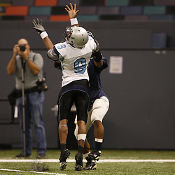2008 December 13: During the Class 1A LHSAA State Championship game, a 62-16 victory by the South Plaquemines Hurricanes over Christian Life Academy at the Louisiana Superdome in New Orleans, LA (photo by Derick Hingle/Nola.com)