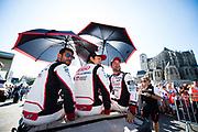 June 13-18, 2017. 24 hours of Le Mans. 9 Toyota Racing, Toyota TS050 Hybrid, Jose Maria Lopez, Nicolas Lapierre, Yuji Kunimoto