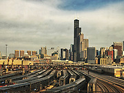 Chicago Skyline © Karen Pulfer Focht-ALL RIGHTS RESERVED-NOT FOR USE WITHOUT WRITTEN PERMISSION