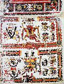 Mexico, The Borgianus Codex, 12-16th Century AD