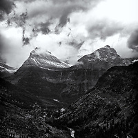 Glacier NP 2013<br /> edited 1/28/14<br /> converted to B&amp;W 1/28/14