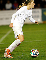 Fifa Womans World Cup Canada 2015 - Preview //  Friendly Match -<br /> Spain vs New Zealand 0-0  ( Municipal Stadium - La Roda , Spain ) <br /> Rebekah Stott of New Zealand