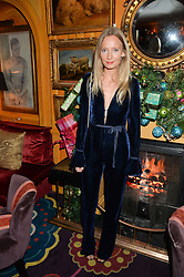 MARTHA WARD at a Thanksgiving dinner hosted by Alexander Gilkes of Paddle8 at Annabel's, 44 Berkeley Square, London on 23rd November 2016.