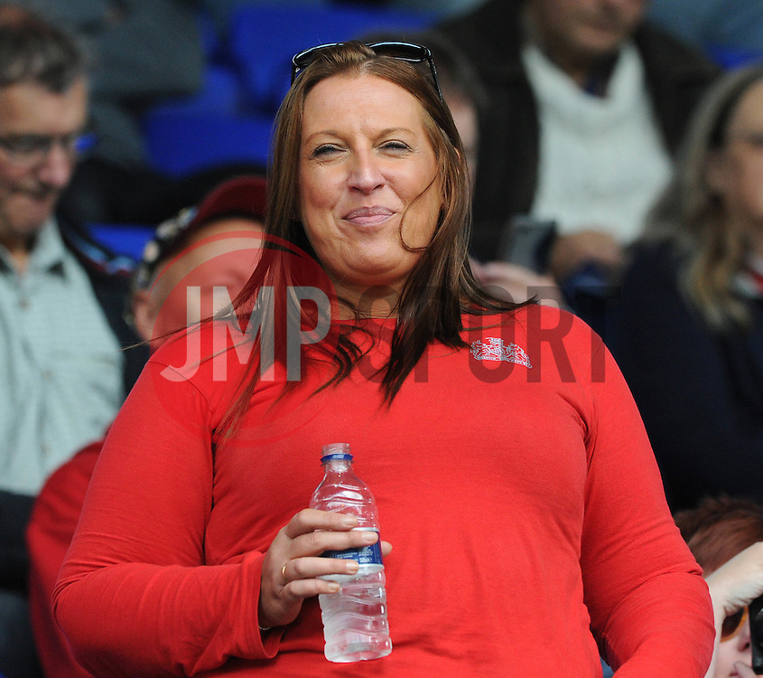 Bristol City fan - Mandatory byline: Dougie Allward/JMP - 07966 386802 - 26/09/2015 - FOOTBALL - Portman Road - Ipswich, England - Ipswich Town v Bristol City - Sky Bet Championship