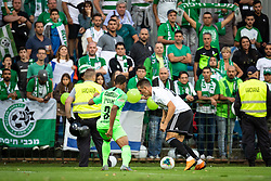Luka Šušnjara of Mura during Football match between NS Mura (SLO) and Maccabi Haifa (IZR) in First qualifying round of UEFA Europa League 2019/20, on July 18, 2019, in Stadium Fazanerija, Murska Sobota, Slovenia. Photo by Blaž Weindorfer / Sportida