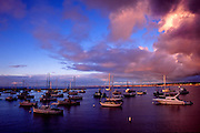Monterey Bay marina, Monterey Bay, California