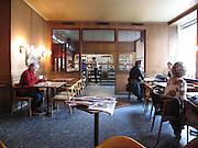 Valands café på Surbrunnsgatan i Stockholm med originalinredning bevarad