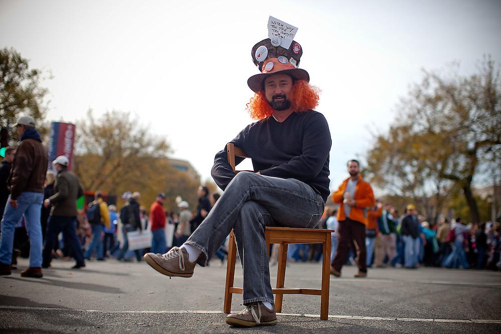 Washington, Oct. 30, 2010 - Rally to Restore Sanity and/or Fear - Marcus Trevisani, NY