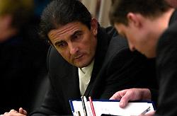 01-04-2001 VOLLEYBAL: FLORIE VREVOK - ALCOM CAPELLE: NIEUWEGEIN<br /> Ivo Martinovic coach<br /> &copy;2001-WWW.FOTOHOOGENDOORN.NL