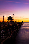 San Clemente Pier on a Summer Night