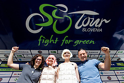 Members of company TEM Catez after 5th Stage of 26th Tour of Slovenia 2019 cycling race between Trebnje and Novo mesto (167,5 km), on June 23, 2019 in Slovenia. Photo by Matic Klansek Velej / Sportida
