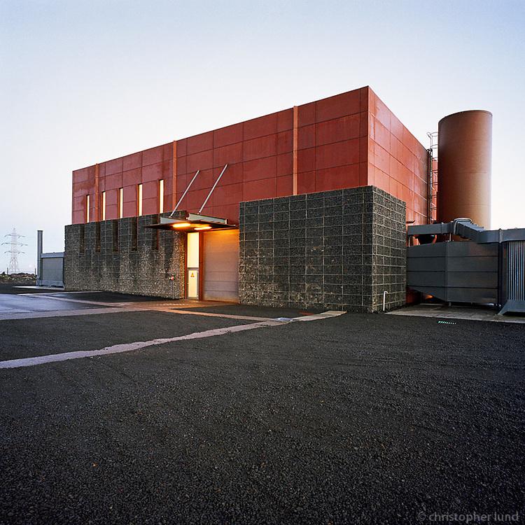 The Gas Powerstation in Straumsv&iacute;k. Serves as back up power for the Alcoa Aluminum Plant in Straumsv&iacute;k, Hafnarfj&ouml;r&eth;ur.<br /> <br /> Gasaflst&ouml;&eth;in &iacute; Straumsv&iacute;k. Vararafst&ouml;&eth; fyrir Alcoa &iacute; Straumsv&iacute;k.