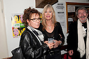 ZOE WANNAMAKER; NETTIE MASON, Gala performance of  RUBY WAX- LOSING IT  in aid of  Comic Relief. Menier Theatre. London. 23 February 2011. -DO NOT ARCHIVE-© Copyright Photograph by Dafydd Jones. 248 Clapham Rd. London SW9 0PZ. Tel 0207 820 0771. www.dafjones.com.