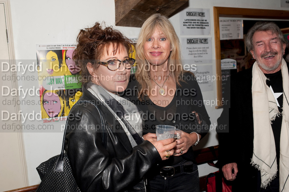 ZOE WANNAMAKER; NETTIE MASON, Gala performance of  RUBY WAX- LOSING IT  in aid of  Comic Relief. Menier Theatre. London. 23 February 2011. -DO NOT ARCHIVE-© Copyright Photograph by Dafydd Jones. 248 Clapham Rd. London SW9 0PZ. Tel 0207 820 0771. www.dafjones.com.