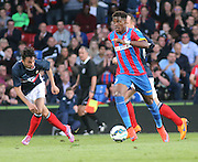 Wilfried Zaha and Dylan Carriero - Crystal Palace v Dundee - Julian Speroni testimonial match at Selhurst Park<br /> <br />  - © David Young - www.davidyoungphoto.co.uk - email: davidyoungphoto@gmail.com