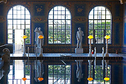 Indoor poor, Casa Grande, Hearst Castle, San Simeon, California, United States of America