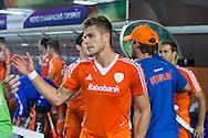 BHUBANESWAR  (INDIA) -   Germany vs Netherlands.  day 2 Hero Champions Trophy Hockey.  Sander de Wijn of the Netherlands .