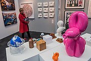 POPek pink  by Sebastian Burdan and other works on the Tag Fine Arts stand - The 30th London Art Fair 2018 at the Business Design Centre, Islington.