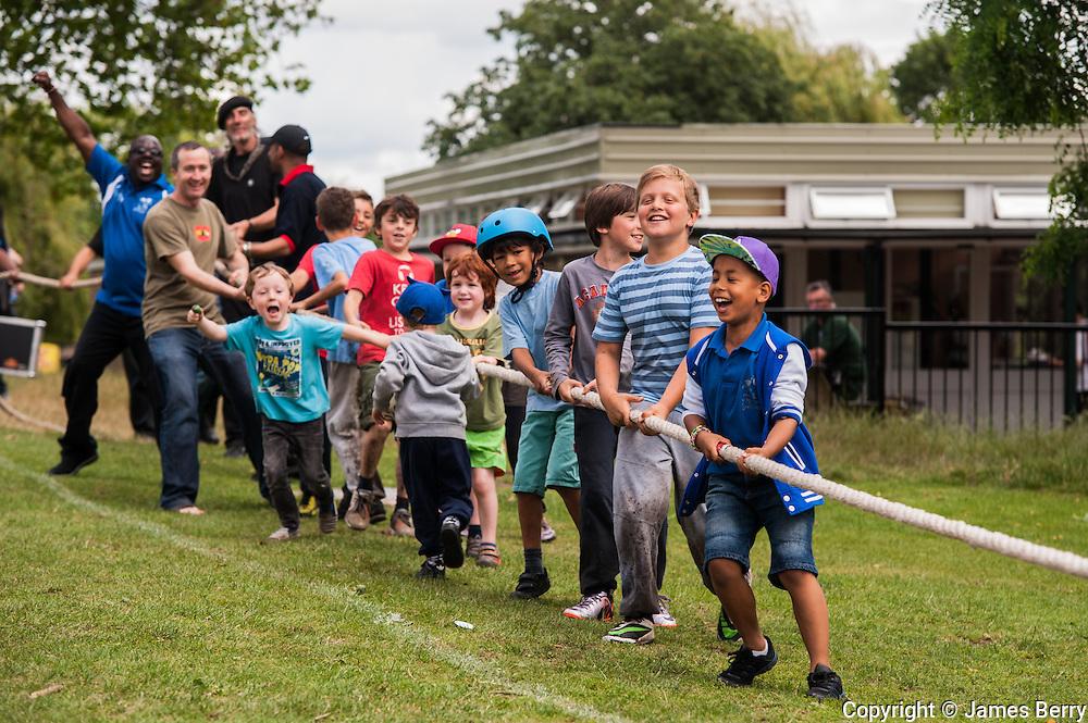 Alternative Commonwealth Games, Hampstead Heath, 13 July 2014.