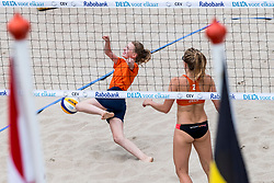 19-07-2018 NED: CEV DELA Beach Volleyball European Championship day 5<br /> Mini of the day and Marloes Wesselink NED #2