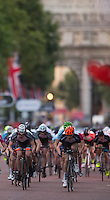Prudential RideLondon Grand Prix Youth Boys' Race, during Prudential RideLondon,  2015 Saturday 1st August, 2015. <br /> <br /> Prudential RideLondon is the world's greatest festival of cycling, involving 95,000+ cyclists – from Olympic champions to a free family fun ride - riding in five events over closed roads in London and Surrey over the weekend of 1st and 2nd August 2015. <br /> <br /> Photo: Jon Buckle for Prudential RideLondon<br /> <br /> See www.PrudentialRideLondon.co.uk for more.<br /> <br /> For further information: Penny Dain 07799 170433<br /> pennyd@ridelondon.co.uk