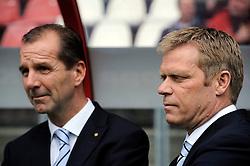 16-05-2010 VOETBAL: FC UTRECHT - RODA JC: UTRECHT<br /> FC Utrecht verslaat Roda in de finale van de Play-offs met 4-1 en gaat Europa in / Jan Willem van Dop en Foeke Booy<br /> ©2010-WWW.FOTOHOOGENDOORN.NL