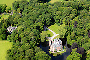 Nederland, Utrecht, Gemeente Utrechtse Heuvelrug, 26-06-2014;<br /> Zeist, Huis Doorn, vooral bekend als verblijfplaats Duitse ex-keizer Wilhelm II.<br /> luchtfoto (toeslag op standard tarieven);<br /> aerial photo (additional fee required);<br /> copyright foto/photo Siebe Swart