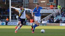 Jack Taylor of Peterborough United in action with James Henry of Oxford United - Mandatory by-line: Joe Dent/JMP - 08/02/2020 - FOOTBALL - Weston Homes Stadium - Peterborough, England - Peterborough United v Oxford United - Sky Bet League One